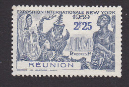 Reunion, Scott #175, Mint Hinged, NY World's Fair, Issued 1939 - Unused Stamps