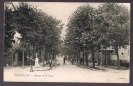 COURTENAY . Avenue De La Gare . - Courtenay