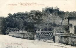 Bruniquel - Le Passage à Niveau Sur Le Chateau - Non Classificati
