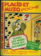 PLACID Et MUZO POCHE N° 245 - Small Size