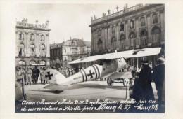 NANCY  Avion Allemand Albatros  Abattu A Fleville  27 Mars 1918 - Nancy