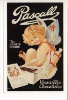 """PUBLICITE - Reproduction Affiche Ancienne  - """"Pascall""""  Chocolates Versailles - Advertising"""