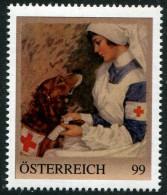 ÖSTERREICH / PM Nr. 8110588 / Rot Kreuz Schwester / Postfrisch / ** - Personalisierte Briefmarken