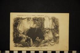 CP, RELIGIONS & CROYANCES CHRISTIANISME Première Apparition 11 Février 1858 N° 2 Vierge Ed D T - Vergine Maria E Madonne