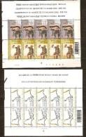 Belgique Belgie 2002 OCBn° 3052-55 *** MNH Cote 20 Euro Feuillets Complètes Sport - Belgique