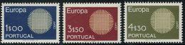 Portugal Cept 1970 Yvertn° 1073-1075 *** MNH Cote 22,50 € Europa - 1970