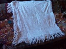Dessus De Lit Ou Nappe  Ancien - Bed Sheets