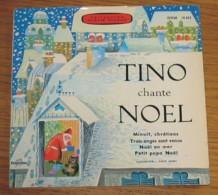 Disque 273 Vinyle 45 T Tino Rossi Avec Livret 6 Pages - Christmas Carols