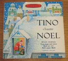 Disque 273 Vinyle 45 T Tino Rossi Avec Livret 6 Pages - Weihnachtslieder