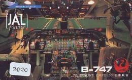 Télécarte Japon * JAL   (2020) Japan Phonecard Airplane * Flugzeug Avion * AVION * AIRLINES * - Airplanes