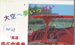 Télécarte Japon *  CLARION  (2023) Japan Phonecard Airplane * Flugzeug Avion * AVION * AIRLINES * - Flugzeuge