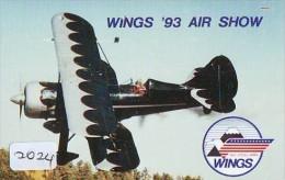 Télécarte Japon *  WINGS 93 AIR SHOW  (2024) Japan Phonecard Airplane * Flugzeug Avion * AVION * AIRLINES * - Flugzeuge