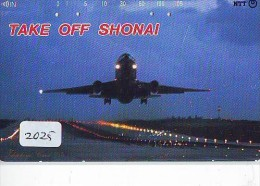 Télécarte Japon *   (2025) Japan Phonecard Airplane * Flugzeug Avion * AVION * AIRLINES * - Flugzeuge