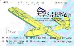 Télécarte Japon *  (2028) Japan Phonecard Airplane * Flugzeug Avion * AVION * AIRLINES * - Flugzeuge