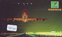 Télécarte Japon *  (2030) Japan Phonecard Airplane * Flugzeug Avion * AVION * AIRLINES * - Flugzeuge