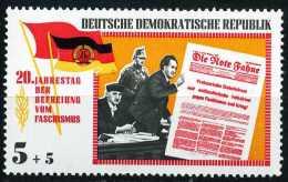 A07-59-7) DDR - Michel 1102 - ** Postfrisch - 5+5Pf 20 Jahre Befreiung Vom Faschismus - [6] République Démocratique
