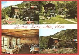 CARTOLINA NV ITALIA - MERANO (BZ) - Gasthof LEITERALM - 10 X 15