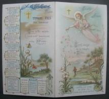 CALENDRIER DE POCHE ANNEE 1903 Chromo Turgis SAINTE ANNEE Avec L´ANGE - CALENDAR - Petit Format : 1901-20
