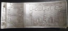 CARNET 10 CPA PARIS EXPOSITION INTERNATIONALE ARTS TECHNIQUES 1937 ART DECO CHIPAULT CONCESSIONNAIRE BOULOGNE-SUR-SEINE - Tentoonstellingen