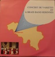 LP.    Concert De  Variètès Par LE BRASS BAND HERINNES. - Vinyles