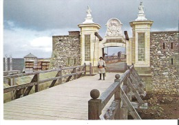Porte Dauphine, Fortress Of Louisbourg, Nova Scotia La Porte Dauphine, Forteresse De Louisbourg, Nouvelle Ecosse - Cape Breton