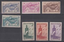 Maroc   PA  N° 43 à 49   Neuf ** - Poste Aérienne