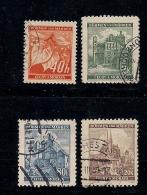 GERMANY, BOHMEN & MAREN, 1940, Cancelled Stamp(s) Fruits & Buildings,  MI 38=41 #13428,  Complete - Occupation 1938-45