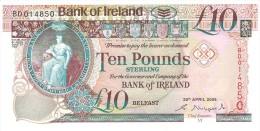 IRELAND NOTHERN 10 POUNDS 2008 PICK NEW UNC - Irlanda