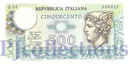 ITALY 500 LIRE 1974 PICK 94 UNC - [ 2] 1946-… : Repubblica