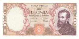 ITALY 10000 LIRE 1973 PICK 97f XF/AU - 10000 Liras