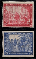 GERMANY, ALLIED OCCUPATION, 1947, Mint Never Hinged Unused Stamp(s) Leipziger Messe, MI 965-966  #13395, - American,British And Russian Zone