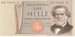 ITALY 1000 LIRE 1971 PICK 101b UNC - [ 2] 1946-… : République