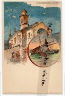 - S. MARGHERITA LIGURE - Chromo, Litografica, Splendide, Barque, Précurseur, Non écrite, TBE, Scans. - Italie