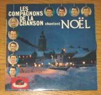 Disque 325 Vinyle 45 T Les Compagnons De La Chanson - Christmas Carols