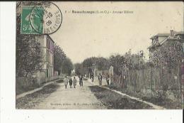 Beauchamps  95    Avenue Hebert Bien Animée (Timbrée Au Verso Timbre Taxe - Beauchamp