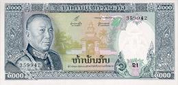 LAOS 5000 KIP 1975 PICK 19a UNC - Laos