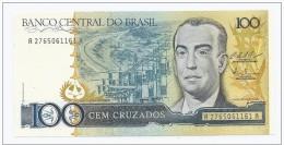BRASILE - 1987 - 100 Cruzados P 211  UNC - Brazil