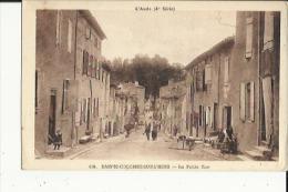 Sainte-Colombe Sur Lhers  11    La Petite Rue Tres Animée - Other Municipalities