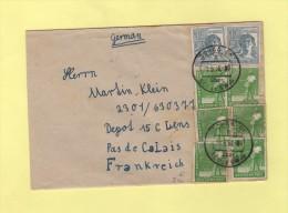 Schaa - 1948 - Destination Depot De Prisonniers De Guerre Allemands A Lens - Allemagne