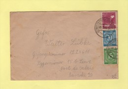 Wittstock - 1947 - Destination Depot De Prisonniers De Guerre Allemands A Lens - Allemagne