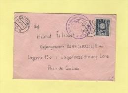 Bilovec - 1947 - Destination Depot De Prisonniers De Guerre Allemands A Lens - Tchécoslovaquie