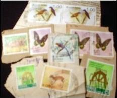 Sri Lanka MissionBag 500g (1LB-1½oz) Large Defs. KILOWARE STAMP MIXTURE From 80s/90s    [vrac Kilowaar Kilovara Mixture] - Stamps