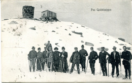 MYRE - Paa Galdhopiggen 1918 - Circulated PC (rare) - Norvegia