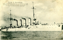 S.M.S. Magdeburg - Old PC - Guerra