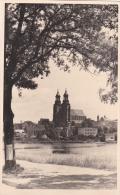 Feldpost WW2: Postcard Gnesen Cathedral From Füsselier Ausbildungs Bataillon 27 In Gnesen, Lager Süd P/m Gnesen 28.10.19 - Militaria