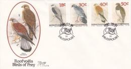 Bophuthatswana 1989 Birds Of Pray FDC - Birds