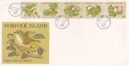 Norfolk Island 1981 Birds FDC - Birds