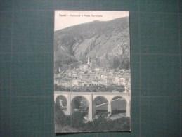 Cpa  TENDA  -  Panorama E Ponte Ferroviario  -  Piemonte   -  Italia  - - Italia