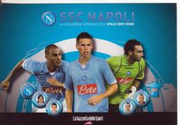 99-Sport-Calcio-Napoli- 2007/2008-Promocard 7539 - Calcio