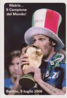 102-Sport-Calcio-Nazionale Italiana-Marco Materazzi-Campione Del Mondo 2006-Promocard 7216 - Calcio